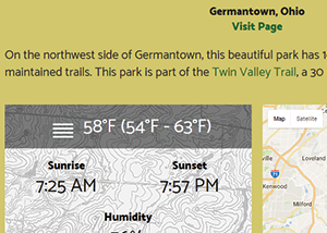 take a Hike Website